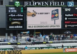 Fix Auto Ad at Jeld Wen Field