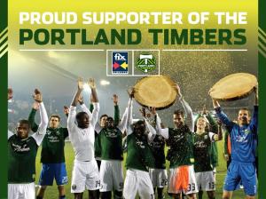 Fix Auto Oregon sponsors Portland Timbers