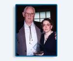 Jim Eber & Camille Eber receive BBB Integrity Award - 1997