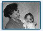 Doris Eber & Camille Eber, circa 1959